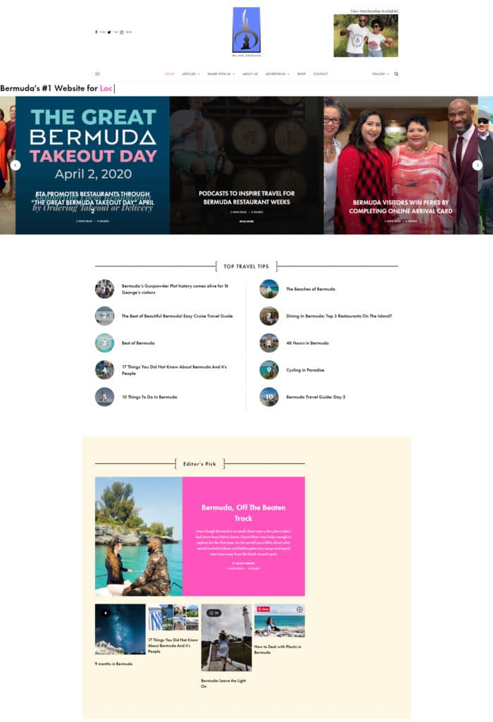 We Are Bermuda